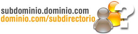 Subdominios y subdirectorios