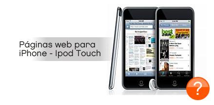 Diseñar web para iphone