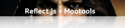 reflect.js + Mootools