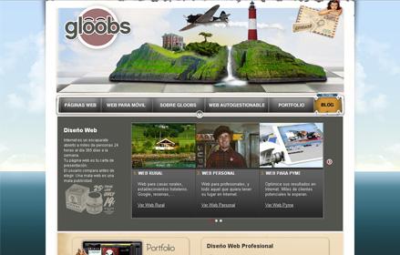 Gloobs, diseño web profesional.