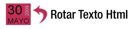 Rotar texto Html con CSS